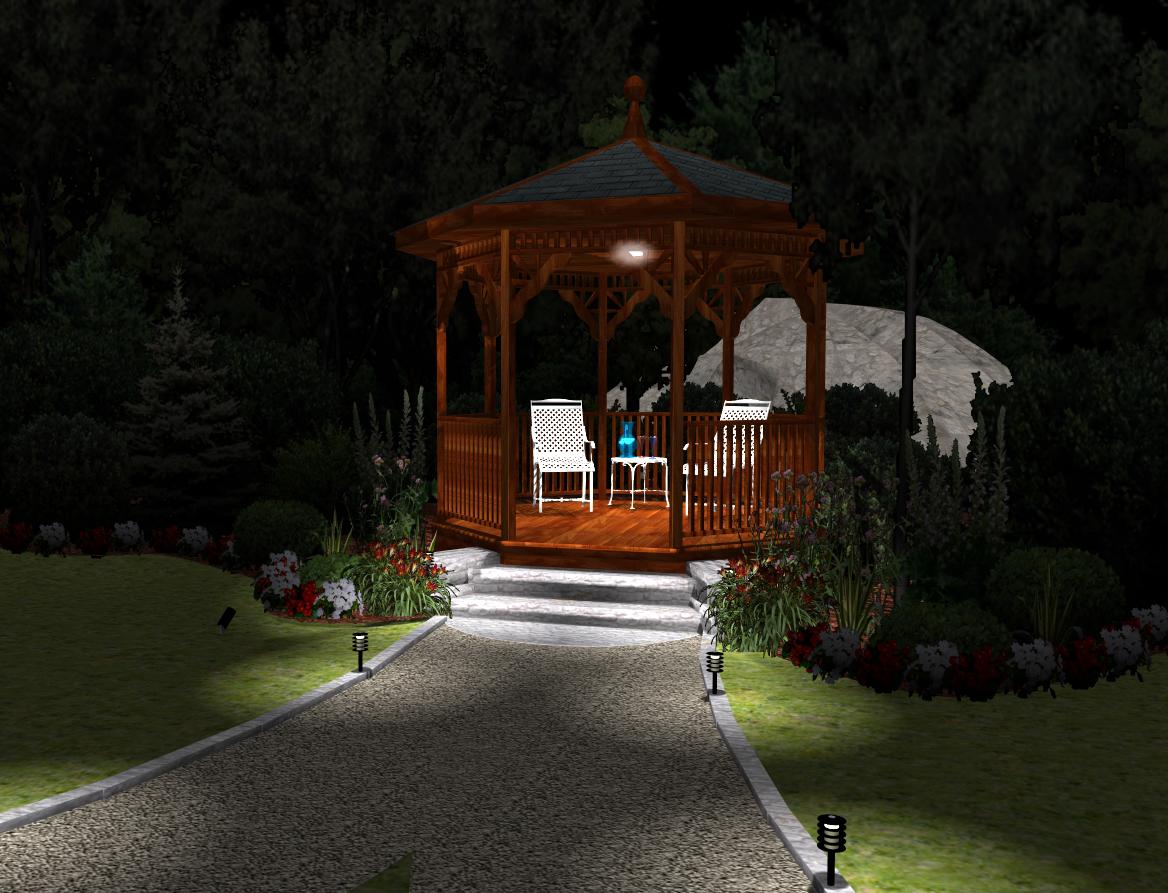 Architecte 3d jardin et ext rieur pictures to pin on pinterest for 3d jardin paysagisme