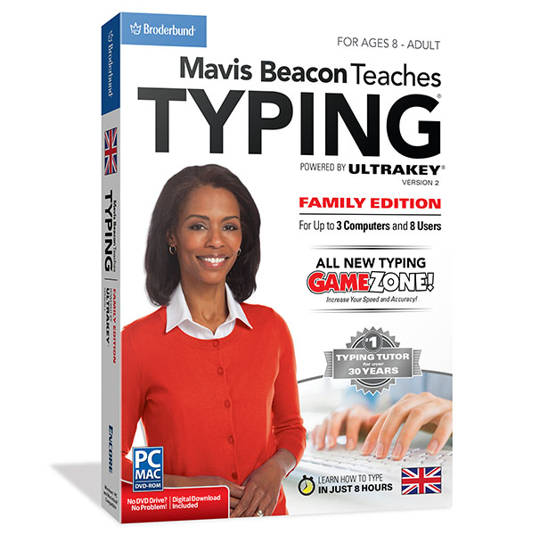 Mavis Beacon Teaches Typing Family for Mac