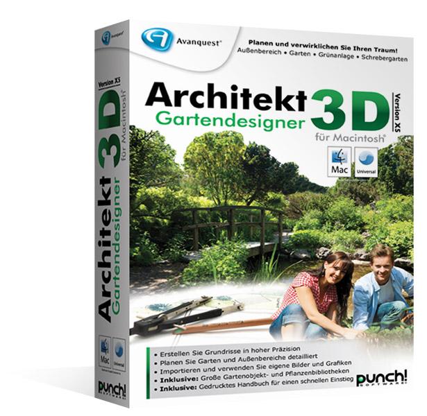 Architekt 3d x5 gartendesigner f r mac fotorealistische for Architekt gartendesigner 3d