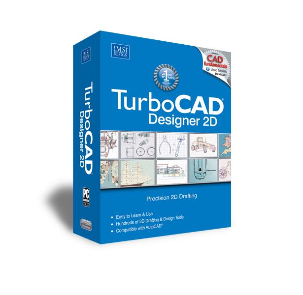 TurboCAD Designer 2D 17 - Easy, Precise 2D Drafting at its Best!