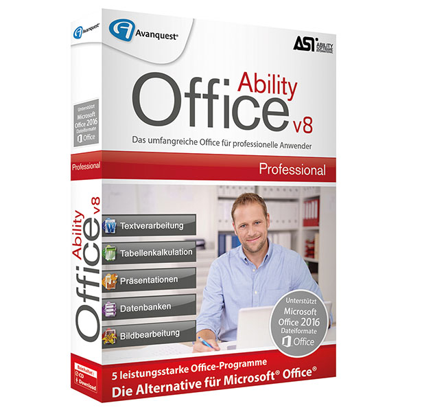 Ability Office Pro V8