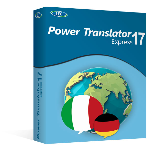 Power Translator 17 Express Deutsch - Italienisch