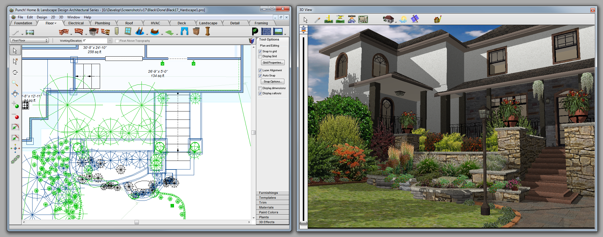 architecte 3d express 2014 le logiciel d 39 architecture 3d pour concevoir votre maison ou votre. Black Bedroom Furniture Sets. Home Design Ideas