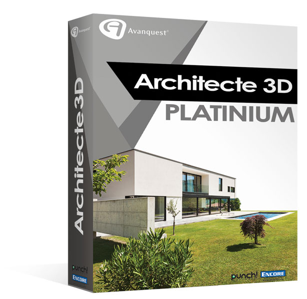 architecte 3d platinium 2017 le logiciel ultime d 39 architecture 3d pour concevoir votre maison. Black Bedroom Furniture Sets. Home Design Ideas
