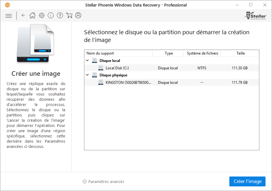 Stellar phoenix data recovery pour windows r cup rez vos - Telecharger console de recuperation windows 7 ...