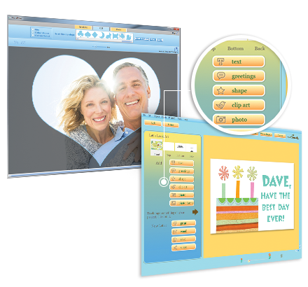 Hallmark card studio the no1 greeting card software digital picture placer m4hsunfo