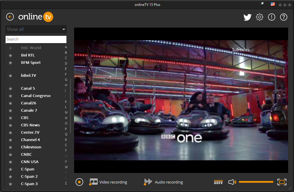 Online TV 15: Live TV on your PC