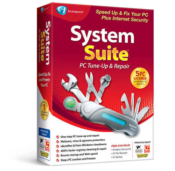 System Suite™ 15 Professional